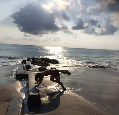 Body shaping Class on the Beach in Palm beach
